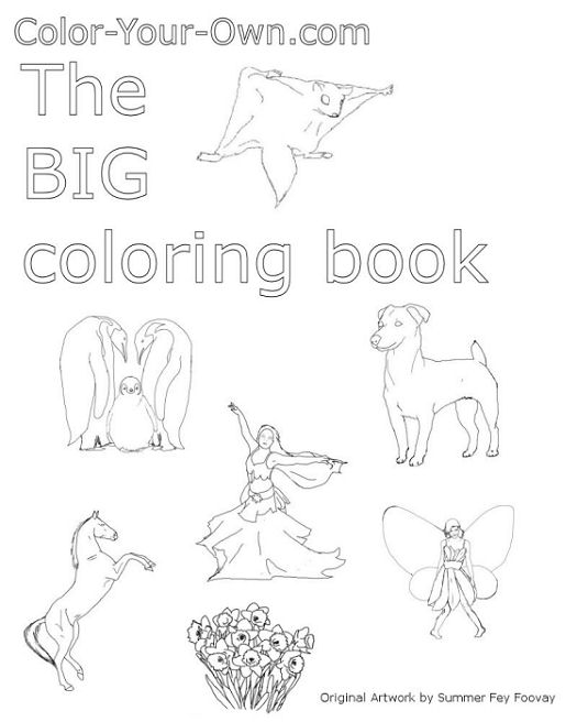 The Color-Your-Own.com Big Coloring Book