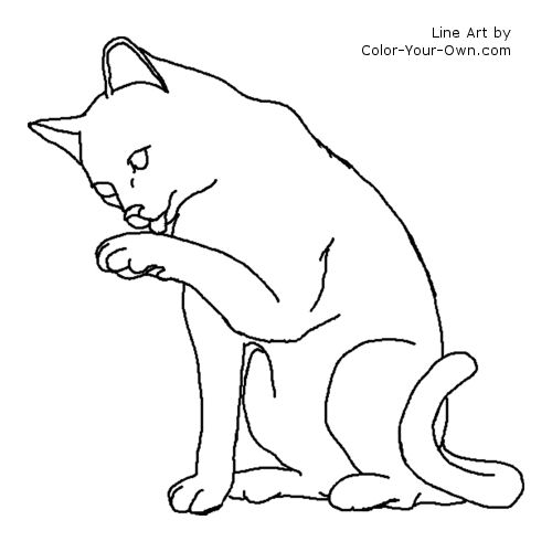 warrior cats printable coloring pages - photo#20
