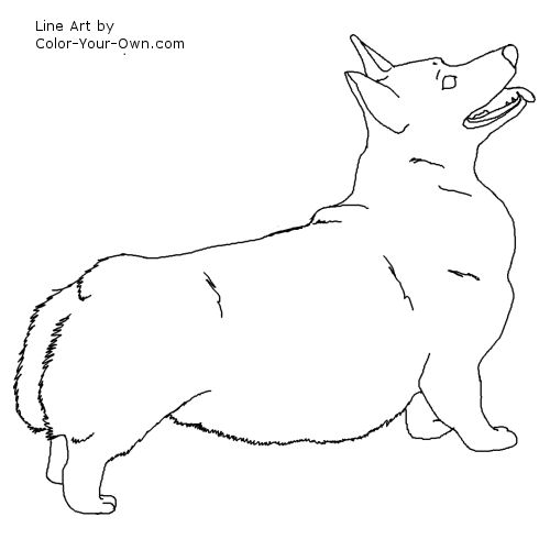 Pembroke Corgi Coloring Pages Coloring Pages Corgi Coloring Pages