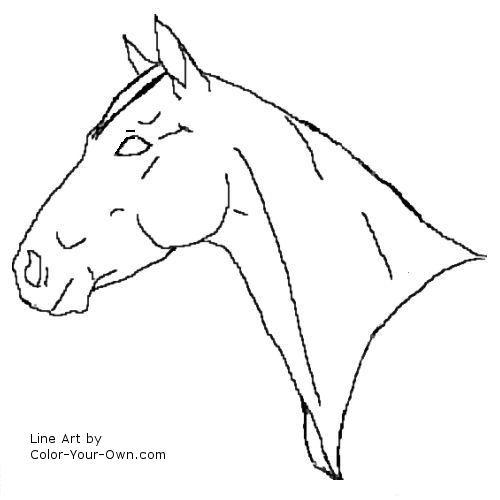 quarter horse head clip art Quotes