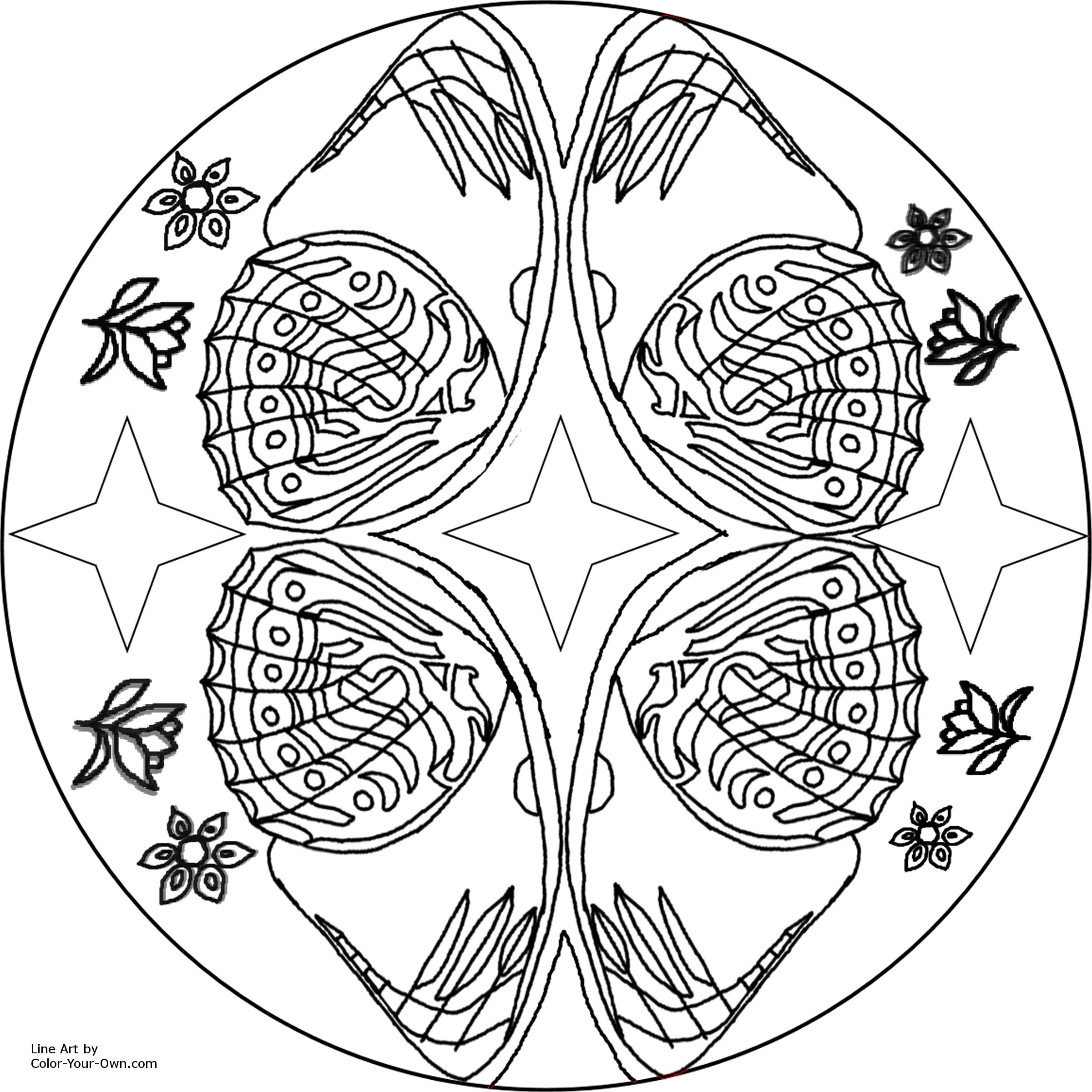 new coloring pages spring mandalas to color coloring pages blog