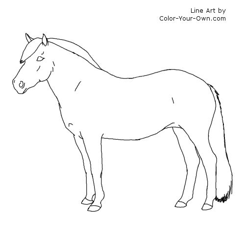 norweigan fjord coloring page